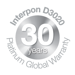 DFV Australia, Interpon 30 year Platinum Warranty