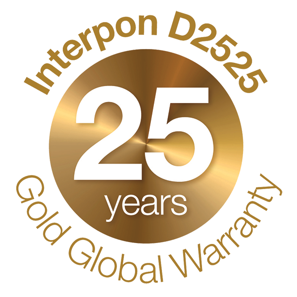 DFV Australia, Interpon 25 year Gold Warranty