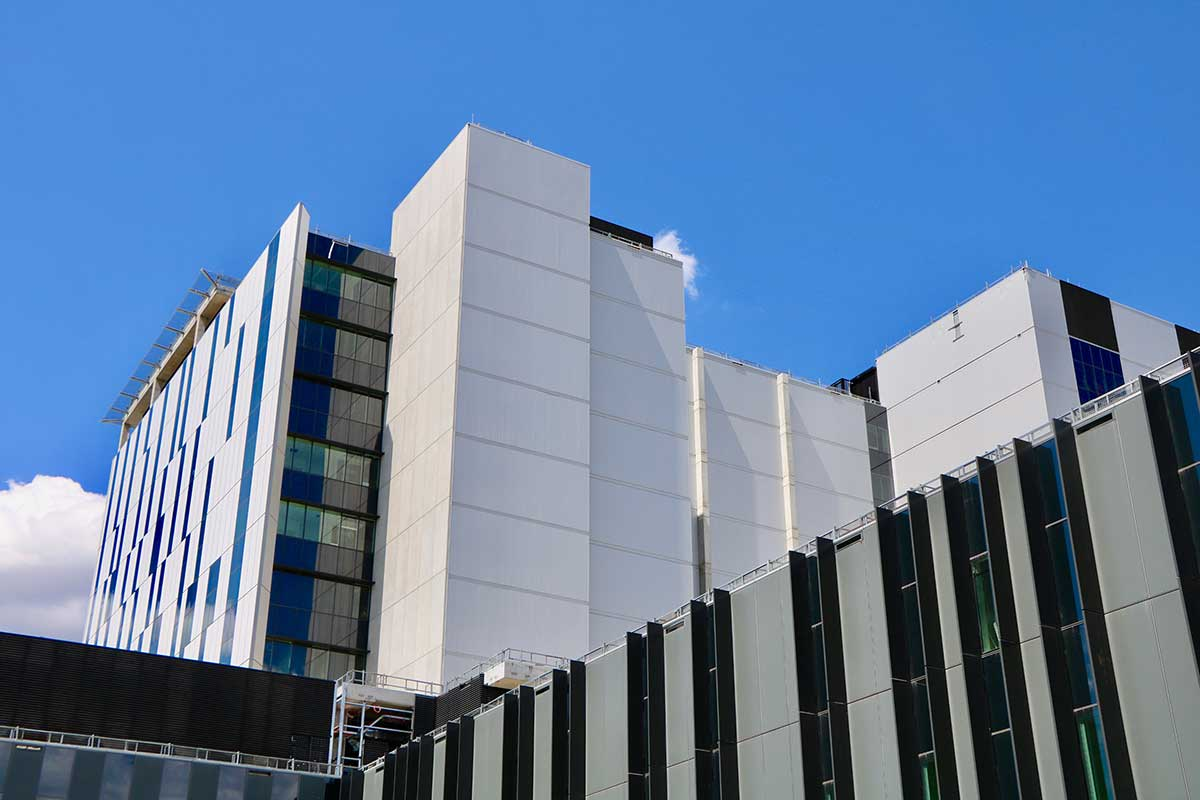 DFV Australia, Powder Coating for Westmead Hospital