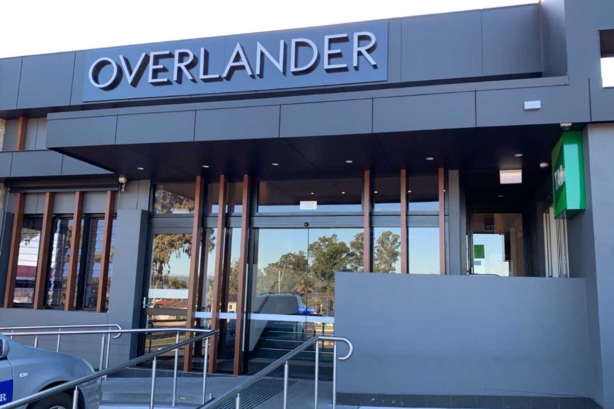 Powder Coated Aluminium Cladding by DFV Australia, Overlander Hotel Motel